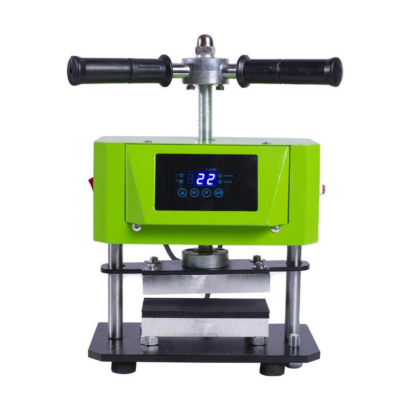 松香机ROSIN PRESS双面发热热转印机植物压榨设备 Featured Image