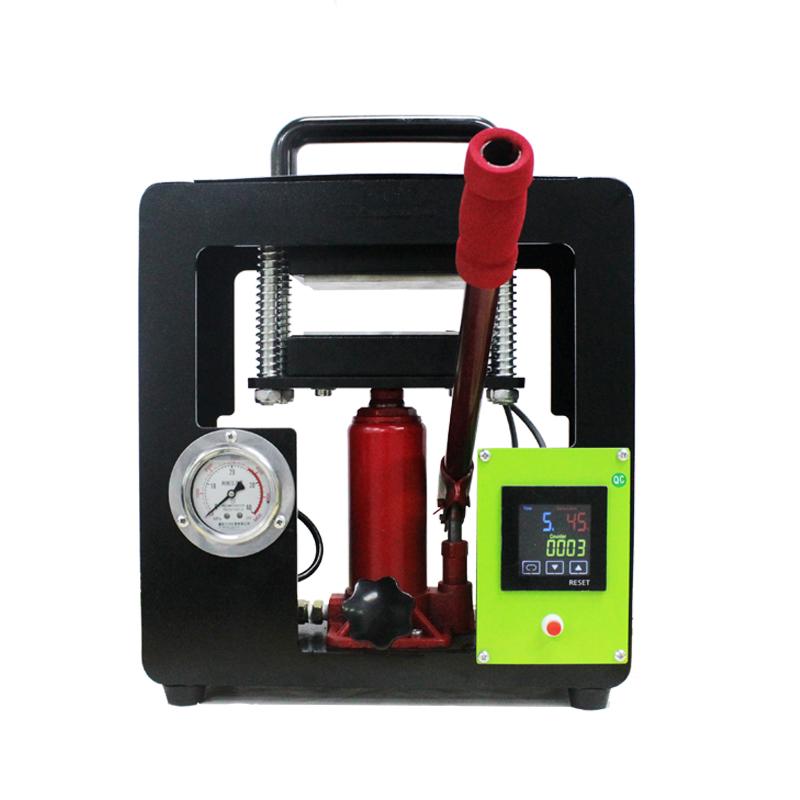 热转印松香机Rosin press液压热压机7吨可显示压力值 Featured Image
