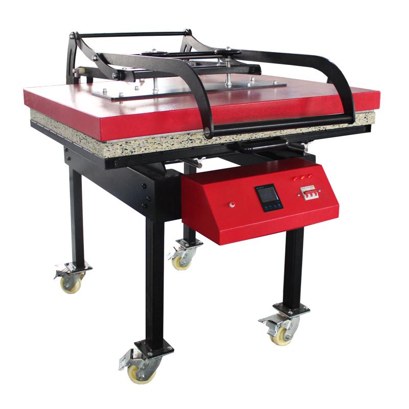 热转印手动大面积烫画机可抽拉织带烫印设备 Featured Image