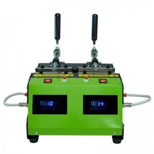 双工位烤杯机热转印马克杯logo定制设备