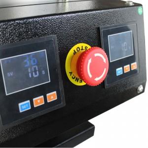厂家直销气动松香机上下板发热大面积压榨设备