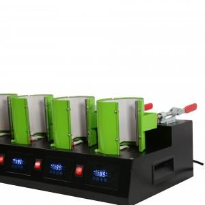厂家直销五工位烤杯机马克杯烫标升华热转印机