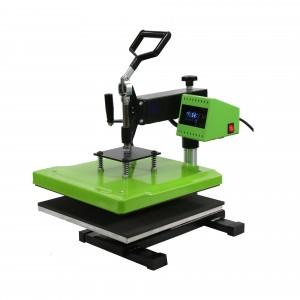 摇头热转印烫画机服装logo烫印设备压标机