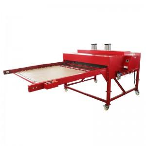 热转印气动烫画机大面积双工位热转印烫压设备