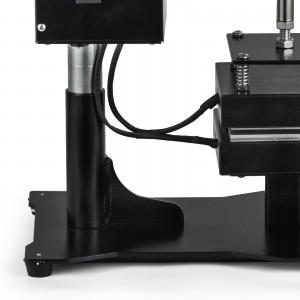 厂家直销松香压烫机1吨压力可摇头双面发热可压榨